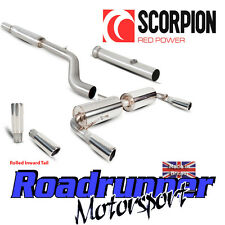 Scorpion Clio 197 Exhaust System Stainless Cat Back Resonated With De Cat Inward