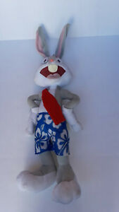 Six Flags large Bugs Bunny plush 31-in.