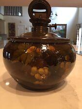 Rookwood Pottery Oil lamp Standard Glaze Artist Signed ARV Albert Valentine 1894