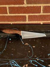 """Vintage Molybdenum Vanadium 6"""" Chef Knife Japan."""