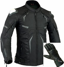acier PROTECTION MOTO VESTE IMPERMÉABLE GRATUIT cuir moto gants