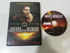 THE WAR OF THE MUNDOS TOM CRUISE STEVEN SPIELBERG DVD SPANISH ENGLISH