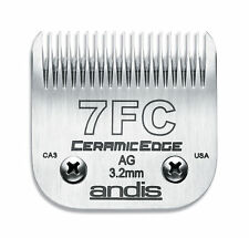 """Andis Ceramic Edge Blade Size 7FC Leaves hair 1/8"""" Fits Andis, Wahl, Oster, A5"""