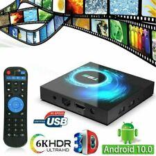 T95 4K Android 10 Core 4Gb+128Gb Tv Box 2.4/5G Wifi Hdmi 3D Home Media Streamer