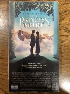 The Princess Bride VHS Fantasy Adventure Cary Elwes Andre The Giant
