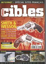"CIBLES N°378 SMITH & WESSON / ""POLICE MONTEE"" / COLT PATERSN / AR-15 DE DPMS"