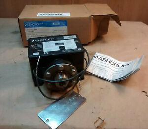 Ashcroft B424S XFM 100 PSI Pressure Switch B4 General Purpose 15A 125/250/480 V