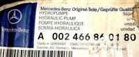 MERCEDES BENZ ORIGINAL Steering System Hydraulic Pump A002466860180 NEW