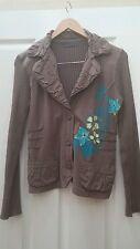Cassis brown cotton jacket size M