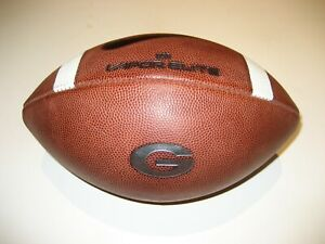 Georgia Bulldogs GAME BALL Nike Vapor Elite Football University - 2017 Season