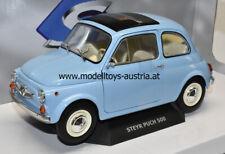 Steyr Puch 500 1969 hell blau 1:18 Fiat 500 SOLIDO