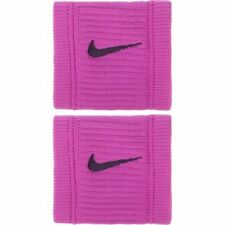 NIKE Dri-FIT Reveal Womens Pink Singlewide Wristbands - NEW