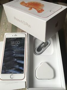 Apple iPhone 6s Plus 16GB Rose Gold (Vodafone) smartphone