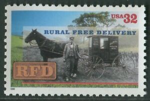 RURAL FREE DELIVERY CENTENARY 1996 - MNH (BR28)