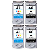 Ink Cartridges for Canon PG40 CL41 PIXMA iP1200 iP1300 iP2200 iP2500 MP140 MP150