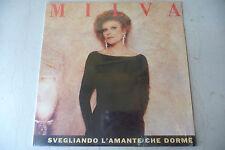 """MILVA(FRANCO BATTIATO)""""SVEGLIANDO L'AMANTE CHE DORME-disco 33 giri RICORDI 1989"""""""