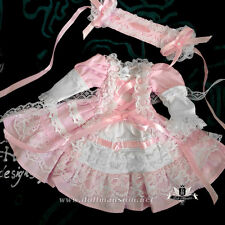1/6 BJD Dress YOSD Maid Dress set Tiny dress DREAM Dollfie DOD SOOM Lolita skirt