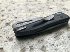 Gray Titanium Deep Pocket Clip For Kershaw Launch 4 7500BLK Knife
