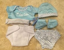 MY FIRST BABY ANNABELL BROTHER BLUE DOLL CLOTHES LAYETTE FITS 14 INCH / 36CM