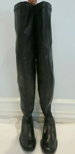 STELLA MCCARTNEY black over the knee boot size 36.5 US 6.5