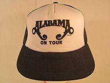 Vintage Mens Cap ALABAMA ON TOUR (Print off-center) [Z168g]