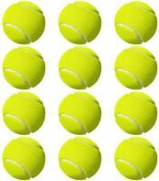 12 Pack Tennis Balls Green