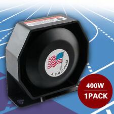400W Compact Siren Horn Loud Speaker Safety Warning Alarm PA System Amplifier