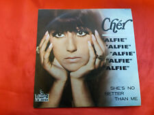 DISCO 45 giri      Cher – Alfie  , She's no brtter than me - 1966