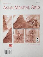 1997 JOURNAL OF ASIAN MARTIAL ARTS MAS OYAMA SHORINJIRYU KARATE KUNG FU AIKIDO