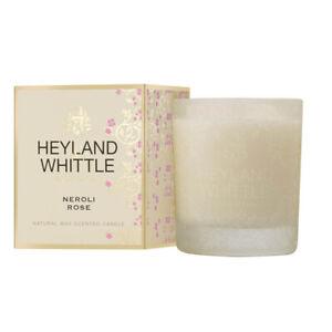 Heyland & Whittle Gold Classic Candle - Neroli Rose