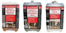 3 x 2 L parquet + dielen Kit d'entretien décireur nettoyeur