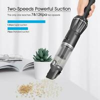 MOOSOO K12 Mini Handheld Vacuum 12KPa Strong Suction Cordless Cleaners For Car