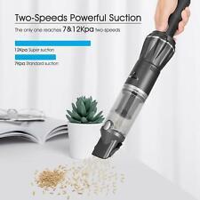 MOOSOO K12 Mini Handheld Vacuum 12KPa Strong Suction Cordless Cleaners For Car
