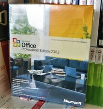 NEW SEALED MICROSOFT OFFICE 2003 PROFESSIONAL PRO X10-42496 DVD 100% GENUINE UK