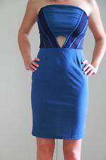 luxueuse robe bustier bleue MET modèle erikas taille S NEUF ETIQUETTE