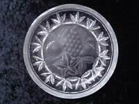 Design Kristall Glas Schale - Obstdekor handgeschliffen - 1,8 kg - Vintage