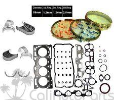 FITS: 02-06 NISSAN ALTIMA SENTRA 2.5L DOHC QR25DE *GRAPHITE* ENGINE RE-RING KIT