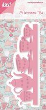 Joy Artigianato Fustella taglio & goffratura Stampo Afternoon Tea - 6002/0398