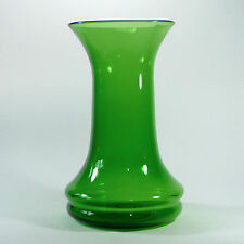 "Blenko Classic Line Vase Grass Green 13"" Tall 8"" Wide Majestic Massive MCM"