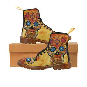 Skull Combat Boots 🌟🌏💥🔥