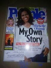 November 26 2018 People Magazine Michelle Obama