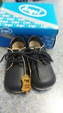 Angel Brand boys navy leather walking shoe size 4