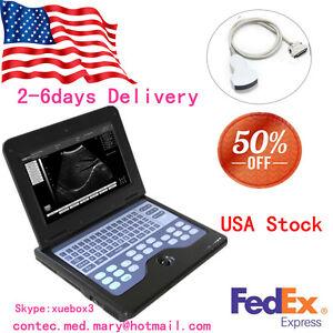 """10.1"""" ultrasound Scanner portable laptop machine,3.5 Convex abdominal Probe FDA"""