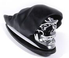 Kotflügel Fender Ornament Totenkopf Chrom Skull für Harley Honda Suzuki Yamaha