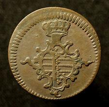 Hzm. Sachsen-Weimar-Eisenach, 3 Gute Pfennig 1760 FS, Doppelleiste unter Jz.