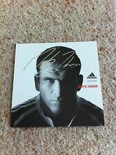 Martin Johnson Rugby England Leicester Barbarians Signed Picture/autograph