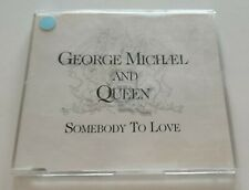 GEORGE MICHAEL And QUEEN 'Somebody To Love' CD Single PROMO 1993 RARE