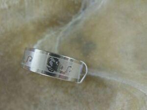 Unisex Edelstahl Fingerring Ring Skorpion Motiv Sternzeichen SIZE 19,6 mm
