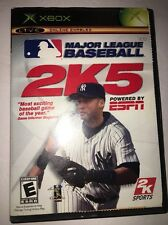 Major League Baseball 2K5-Xbox-Tested-Rare Collectible Vintage-Ships In 24 Hours