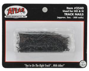 Atlas Railroad Ho/N Scale Track Nails (400) [ATL2540]